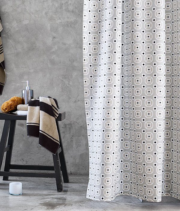 Refreshing Shower Curtain Designs For The Modern Bath - Duschvorhang H M