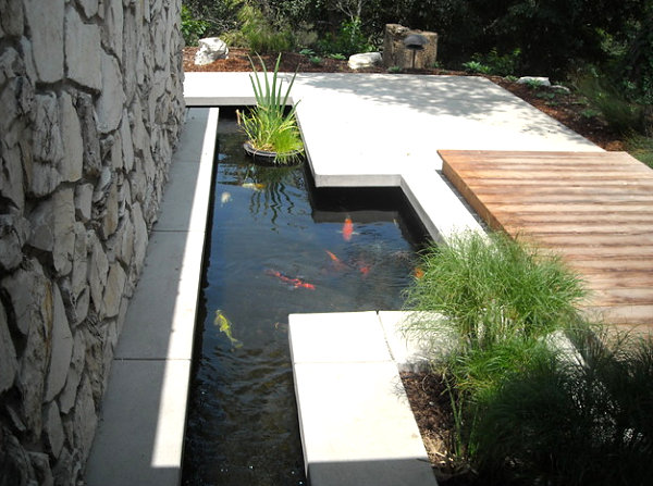 Moderner Koiteich Garden Ponds Design Ideas & Inspiration