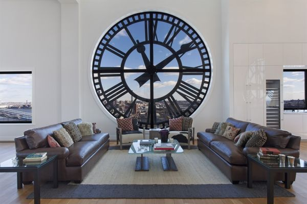 Striking Wall Clocks Can Give Your Home a Timeless and Dynamic Allure - living room clock