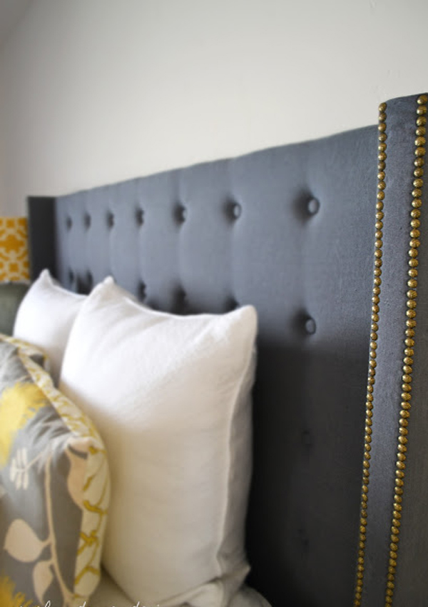 Bett Kopfteil Gepolstert Selber Machen Tufted And Studded: Upholstery Details For Elevated Design