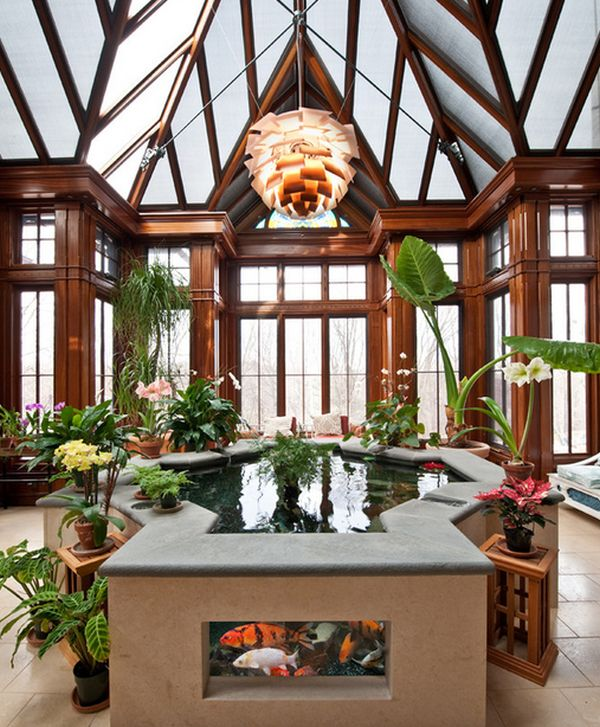Badezimmer Interior Design Inspiration Natural Inspiration: Koi Pond Design Ideas For A Rich And