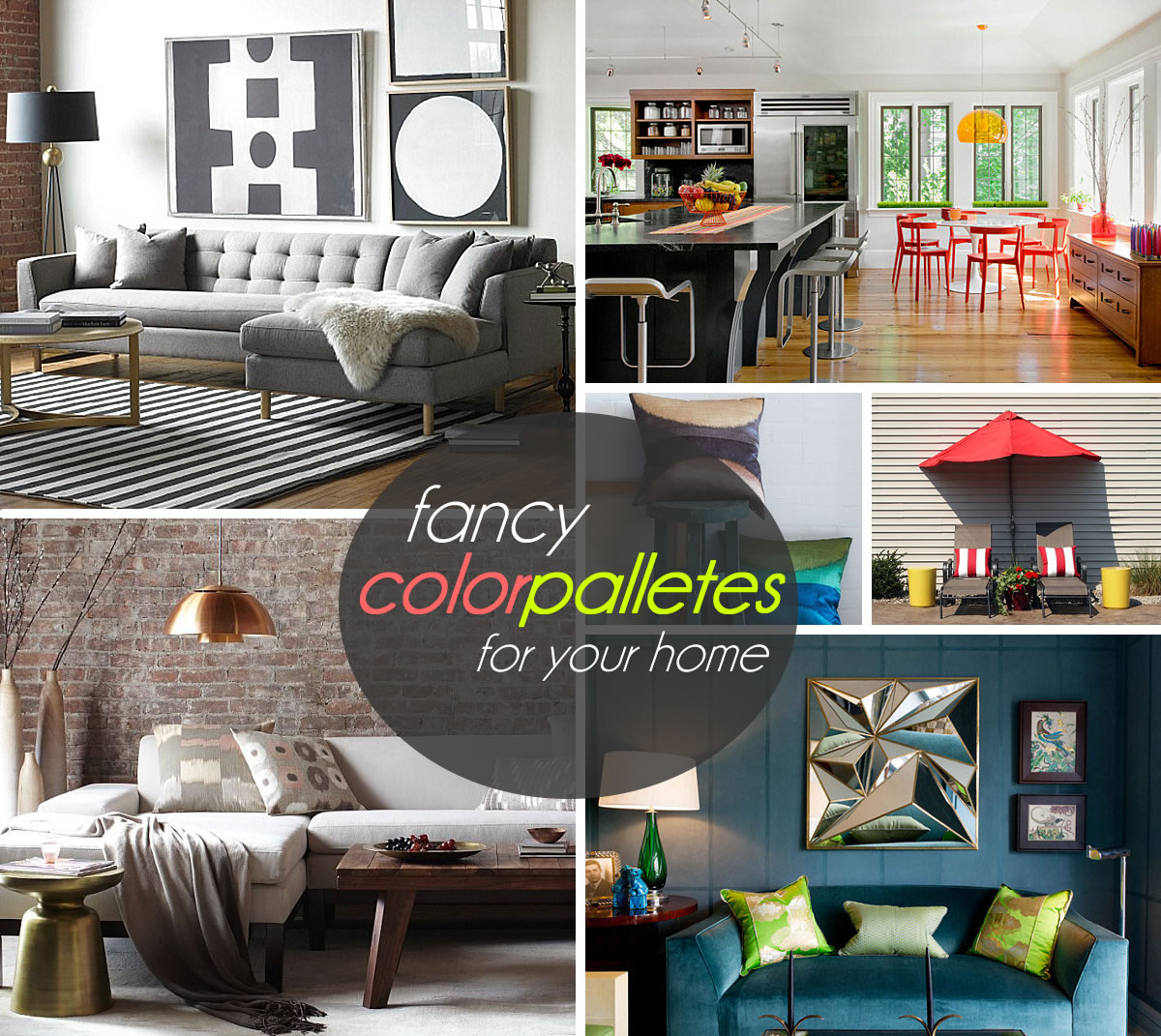 Interior Design Colour Palettes Three Stunning Color Palettes For Your Interior