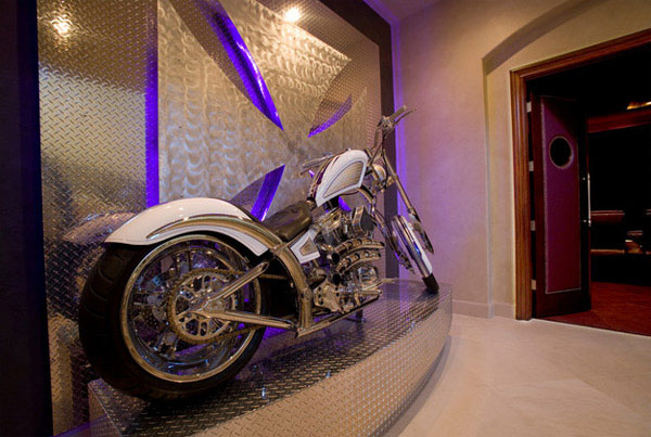 Garage Storage Ideas Dream Motorcycle Garages: Park Your Ride In Style At Night