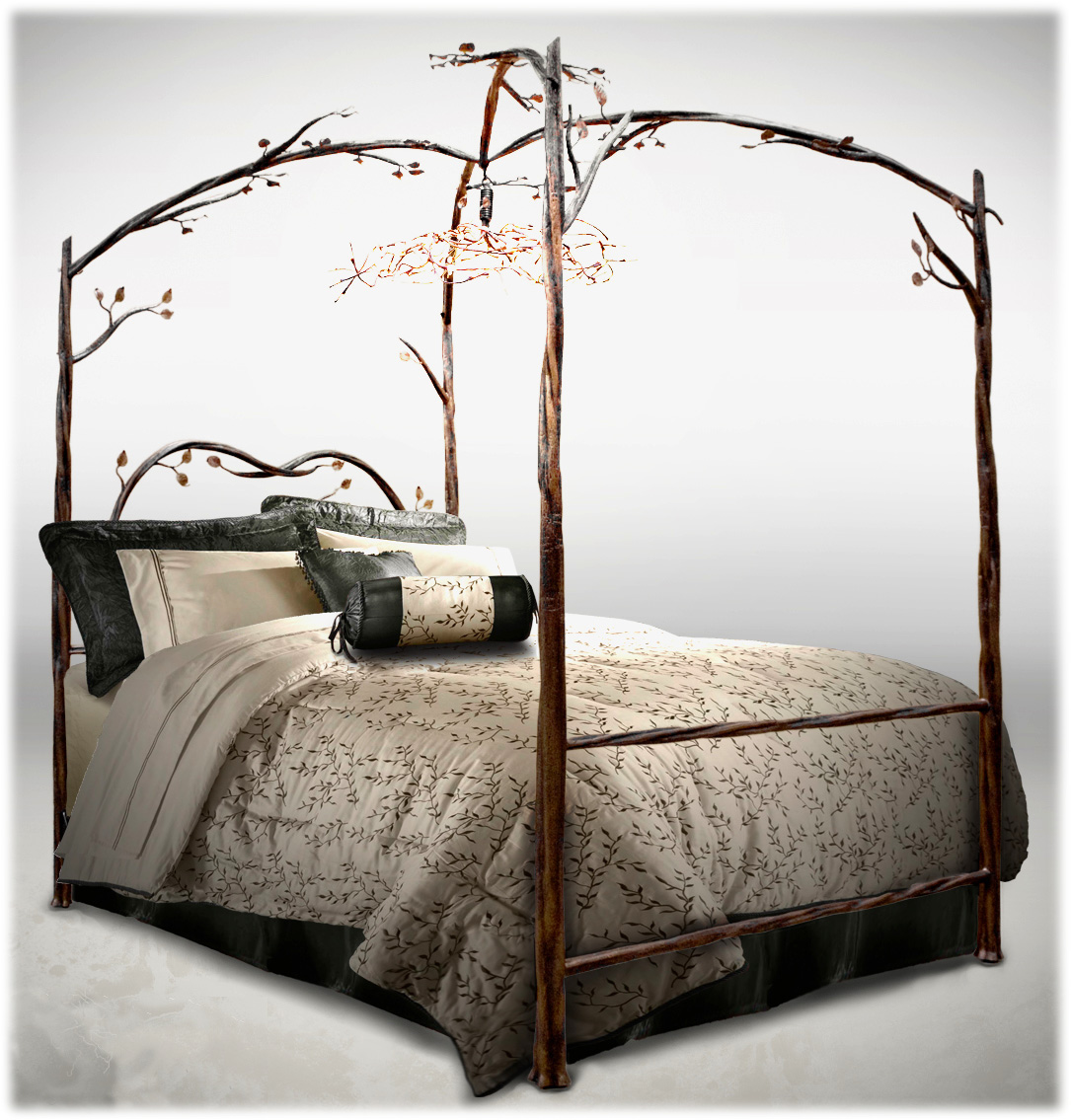 Himmelbett Gestell Fantastically Hot Wrought Iron Bedroom Furniture