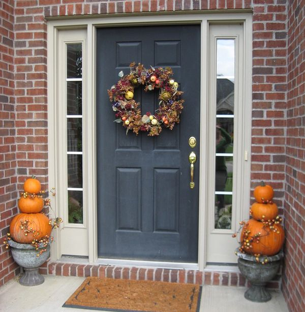 Halloween porch and entryway ideas from subtle to scary