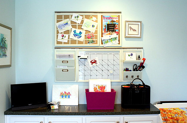 How To Organize Office Space. Storage Organization Boxes Closet