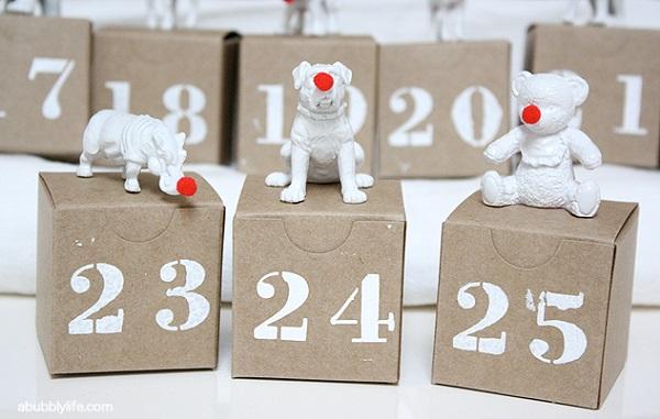 Make A Cute Calendar Online Make Something Fabulous Because Cute Matters Dana Diy Advent Calendars For A Fun Countdown To Christmas