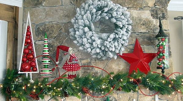 50 Christmas Mantle Decoration Ideas - dr seuss christmas decorations