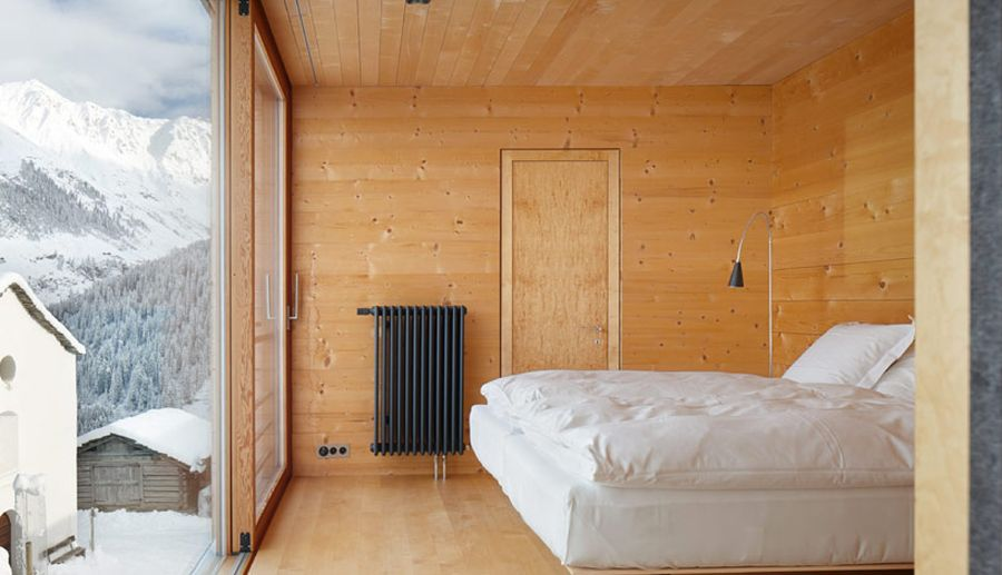 French Doors For Bedroom Vacation Homes In The Swiss Alps Showcase The Beauty Of