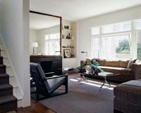 large living room mirror - Decoist