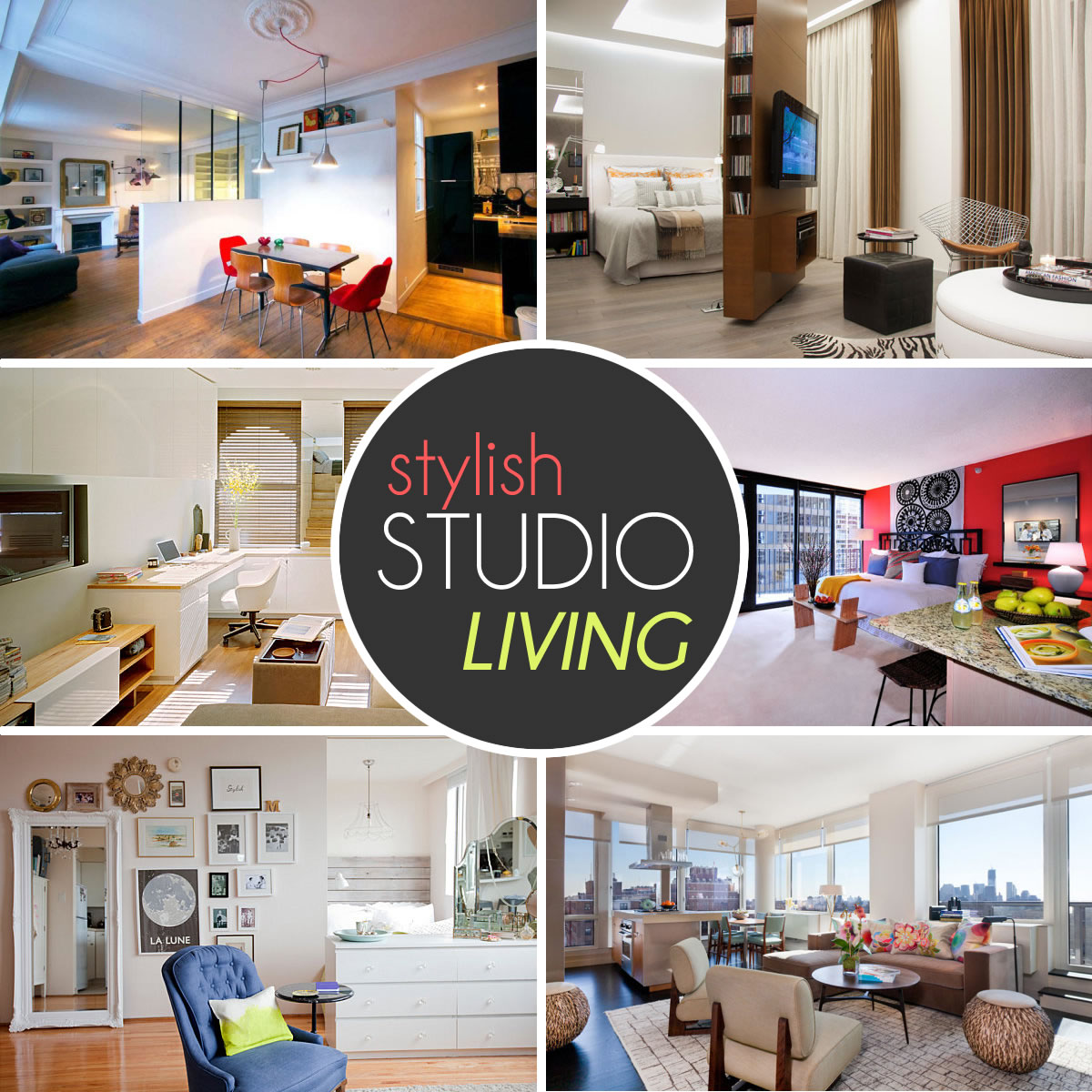 Very Small Studio Apartments The Design Lover S Guide To Stylish Studio Living