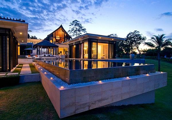 luxurious villa in thailand blends serene elegance with stunning sea views