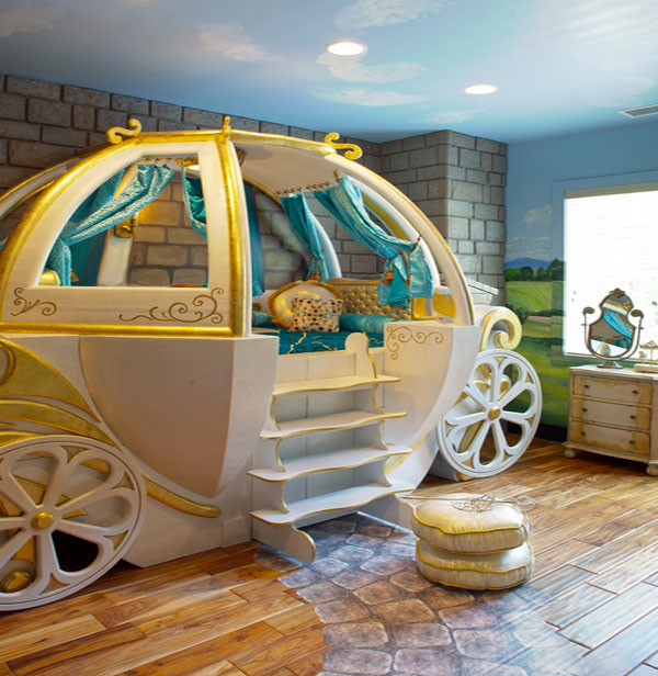 Cars Kinderbett Fantasy Beds For Kids: From Race Cars To Pumpkin Carriages!