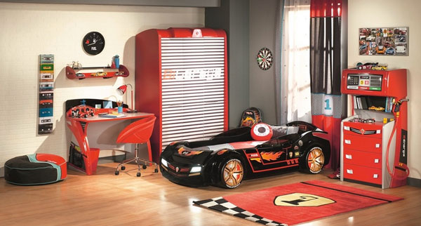 Best Wallpaper For Girls Bedroom Teen Fantasy Beds For Kids From Race Cars To Pumpkin Carriages