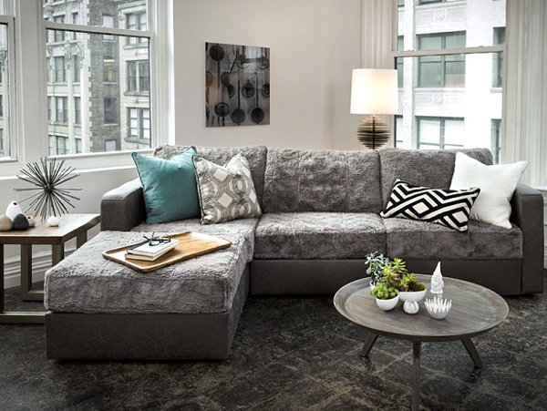 Compact Blue Sofa 15 Modern Sofas To Help You Redecorate