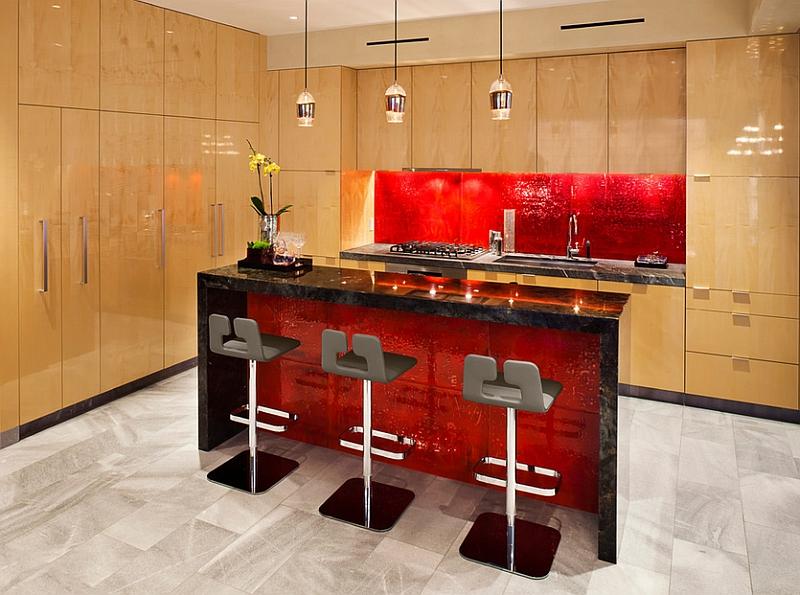 kitchen backsplash ideas splattering popular colors subway mosaic red glass kitchen backsplash tile traditional kitchen