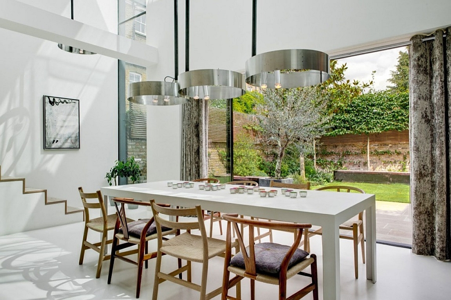 Designerlampen Classic Victorian House In London Gets A Grand And Glassy