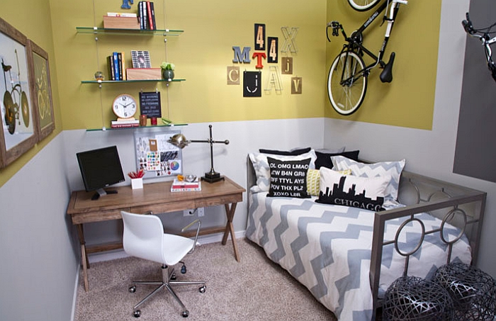Kids Bedroom Space Saving Ideas Creative Bike Storage & Display Ideas For Small Spaces