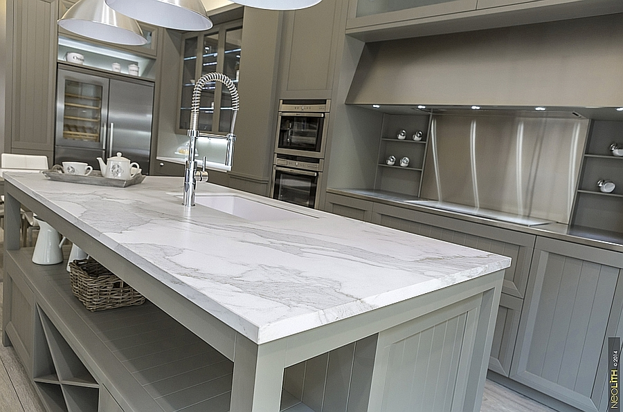 Porcelain Tile Vs Ceramic Tile Resilient Porcelain Slabs For Kitchen Countertops, Islands