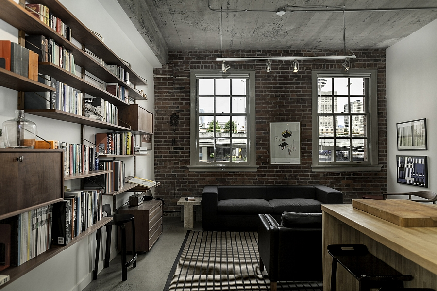 3d Brick Wallpaper Philippines Historic Loft Brings Together Rich Heritage And
