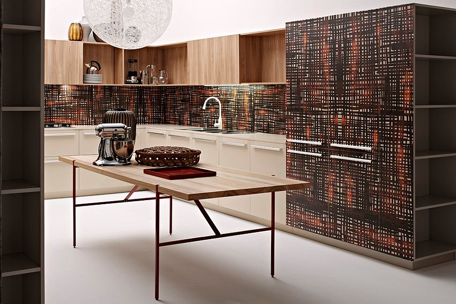 modern italian kitchens modular cabinets colorful compositions trendy kitchen designs trend home design decor
