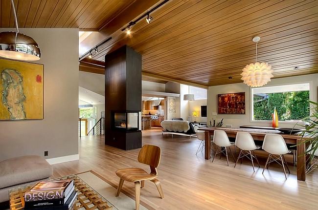 Mid-Century Modern Style Design Guide, Ideas, Photos - mid century modern living room