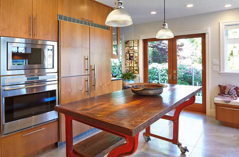 Eat At Kitchen Islands Mobile Kitchen Islands Ideas And Inspirations