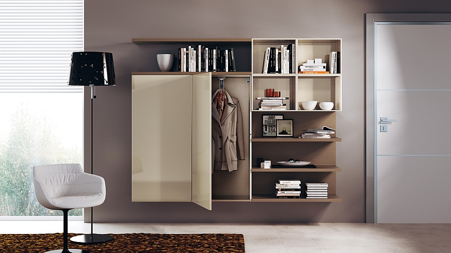 Flurgarderobe Modern Modular Living Area, Kitchen Compositions Versatile Trendy