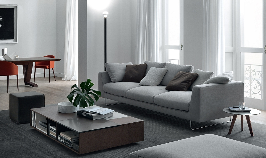 Trendy Round Coffee Table Ideas, Contemporary Style - tables for living room