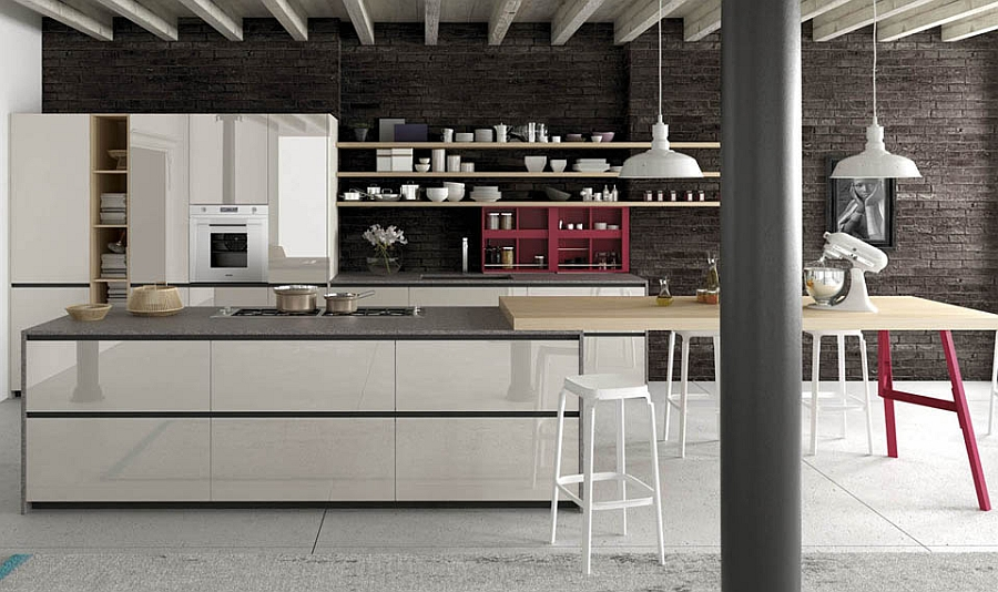 Mini Badezimmer Design Contemporary Italian Kitchens Designs, Creative Timeless Ideas