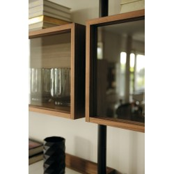 Swish Gallery Closed Shelves Ubiqua Wall System Minimalist Living Room Wall Unit Italian Design Closed Wall Shelves Enclosed Wall Shelves View