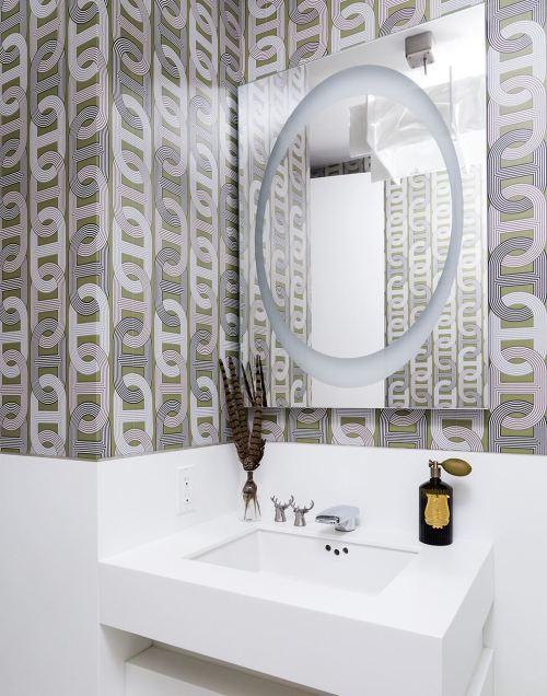 Medium Of Wallpaper For Bathrooms