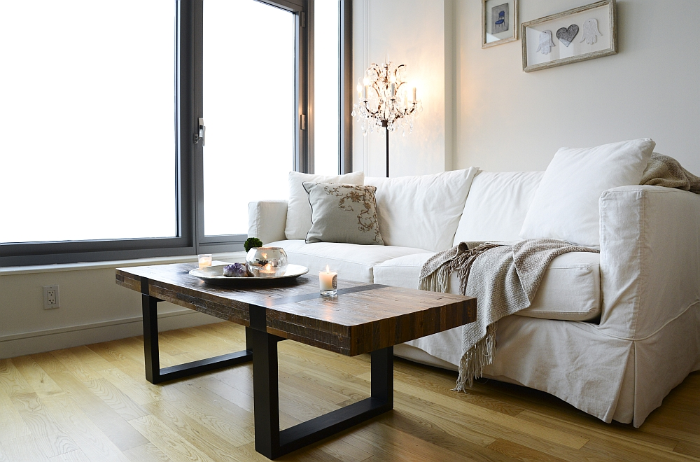 Victorian Coffee Table Dashing Nyc Studio Apartment Gets Two Glamorous Makeovers!