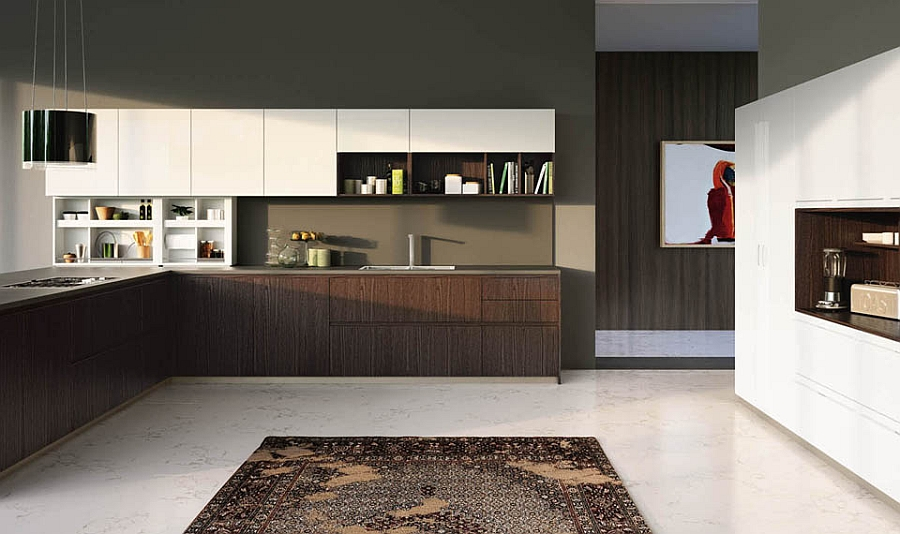 fabulous italian kitchens unravel space savvy design solutions smart storage solutions small kitchen design