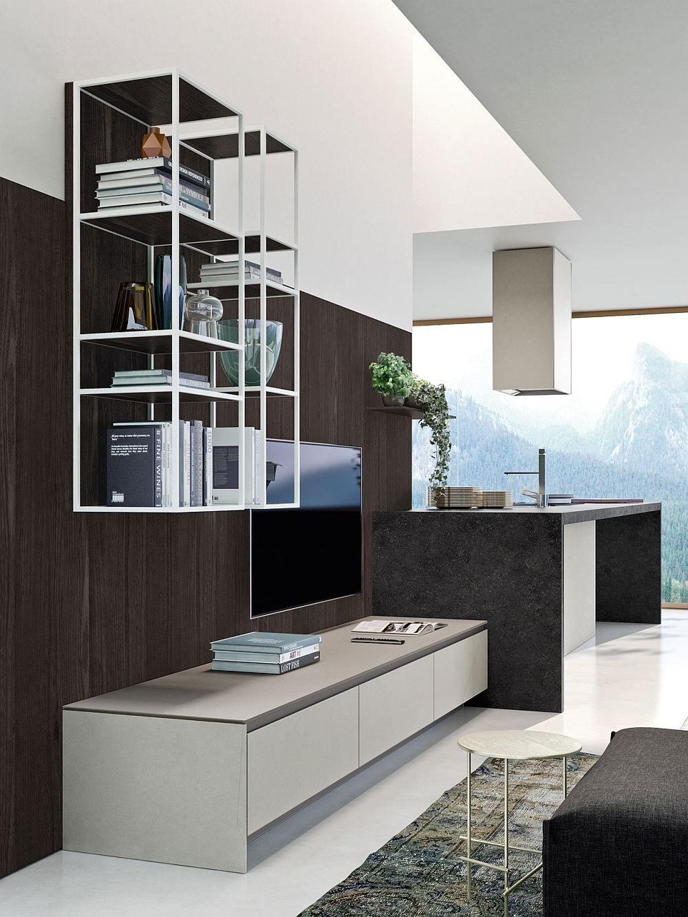 Design Kitchen Set Posh Kitchen Compositions Fuse Modularity With Minimal