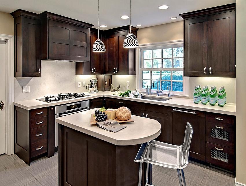 create visually airy small kitchen design woodshop avon modern small kitchen designs smart ideas small kitchen designs