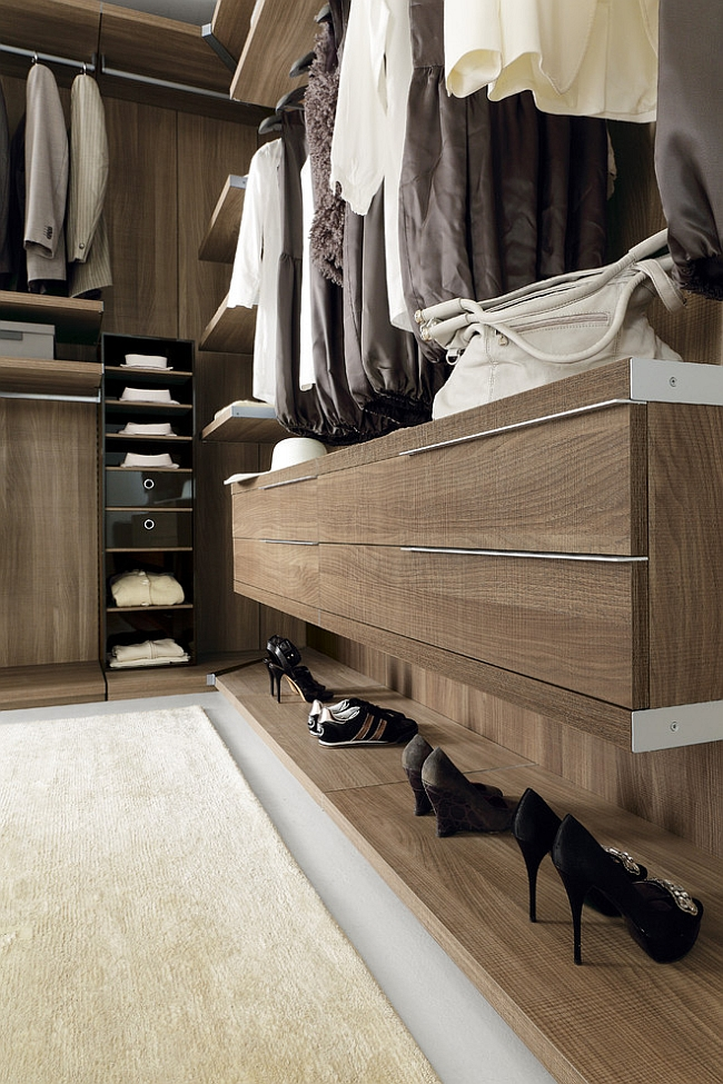 Room Accessories Exclusive Walk-in Wardrobe Offers Stunning Modular