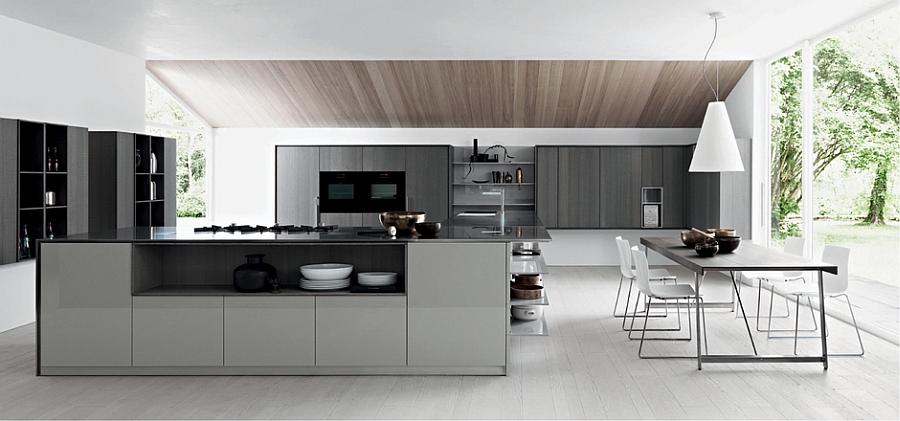 kitchen space saving design solutions kalea posh modern kitchen smart storage solutions small kitchen design
