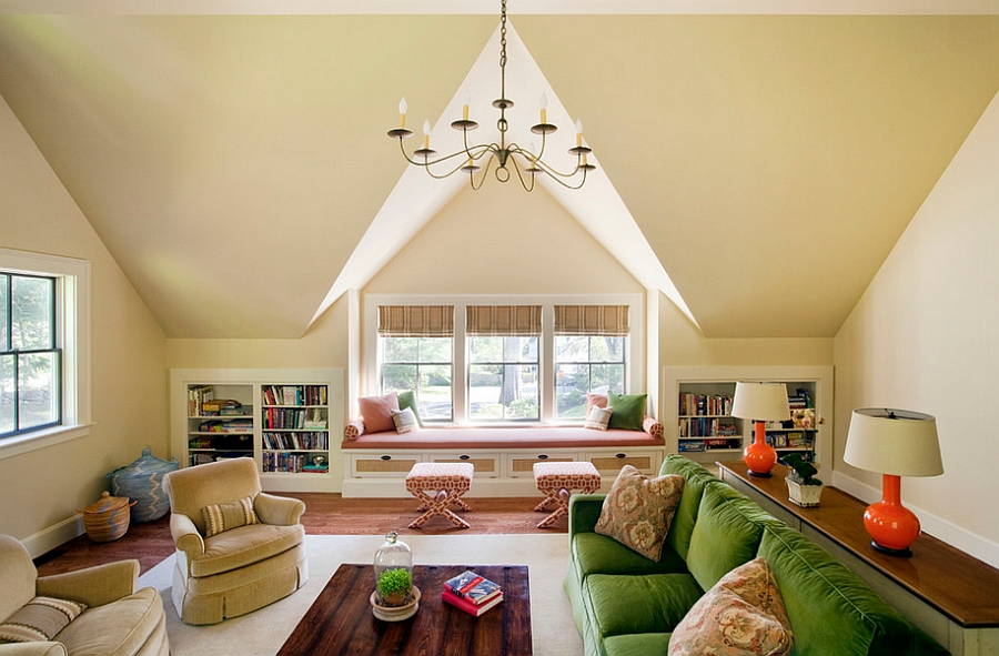Wohnzimmer Ideen Dachgeschoss 10 Attic Spaces That Offer An Additional Living Room