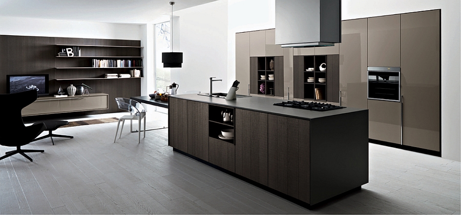 kalea posh modern kitchen offers versatile design solutions smart storage solutions small kitchen design