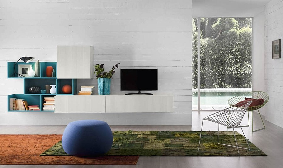 11 Creative Wall Units that are Eco-friendly - wall units for living rooms