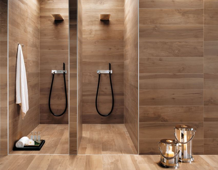 Bodenfliesen Holzoptik Eiche 10 Modern Bathroom Spaces With Cozy Features