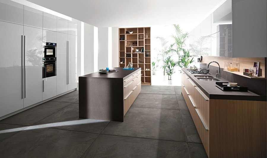 Anthrazit Küche Fliesen Code: Posh Kitchen Blends Trendy Aesthetics With Practicality