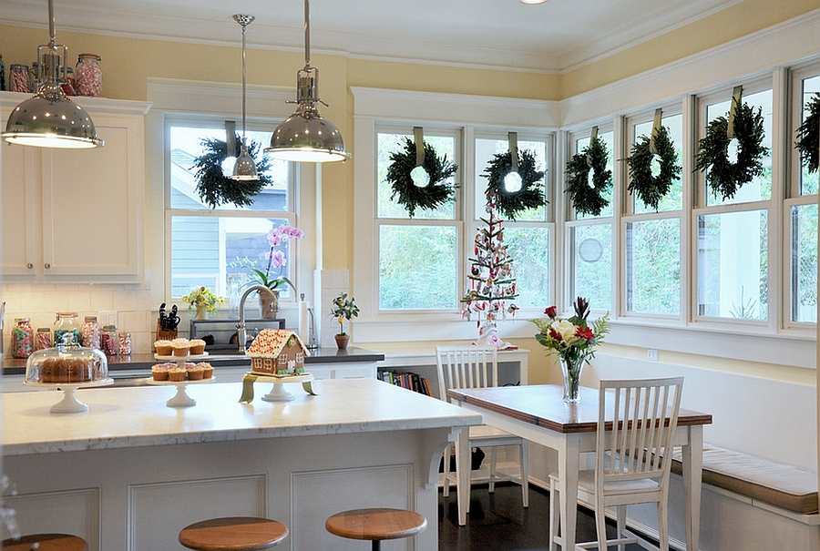 Christmas Decorating Ideas That Add Festive Charm to Your Kitchen - christmas kitchen decor