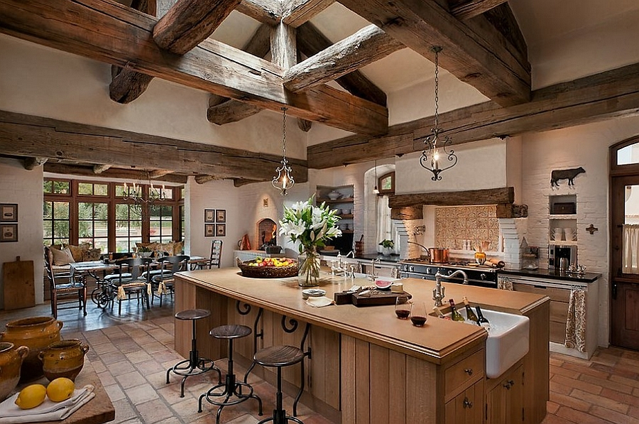 fabulous kitchen exposed wooden ceiling beams design calvis white kitchen beams white kitchen beamed ceiling home styles nantucket