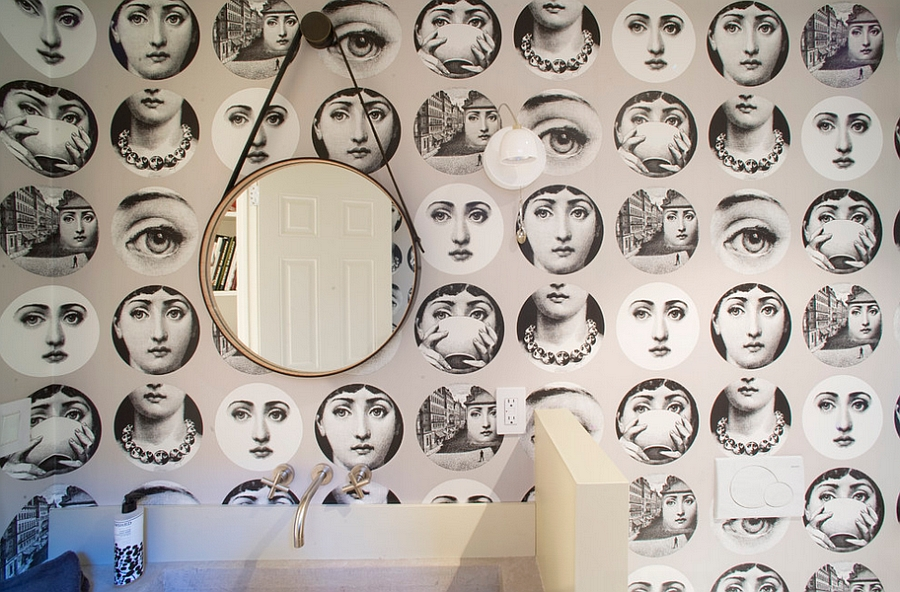 Fornasetti Tapete 12 Inspirations That Add Fun Fornasetti Twists To Your Home