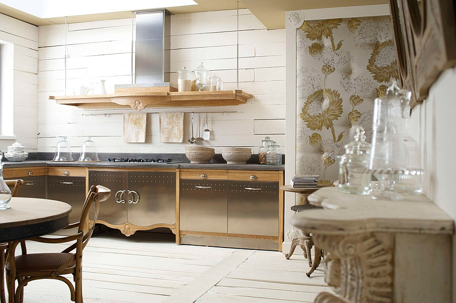 Küche Landhausstil Vintage Custom Made Kitchen Gives A Modern Twist To Classic Design