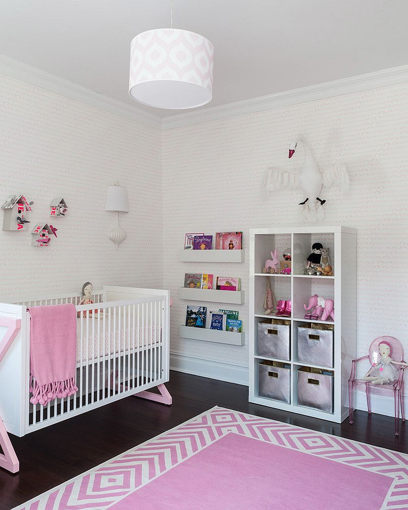 20 Gorgeous Pink Nursery Ideas Perfect For Your Baby Girl