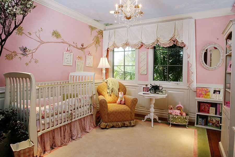 Anime Wallpaper Other Girls Carousel 20 Gorgeous Pink Nursery Ideas Perfect For Your Baby Girl
