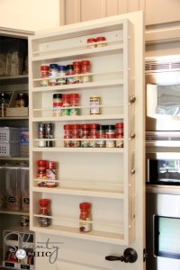 Pantry Door Spice Rack - Decoist